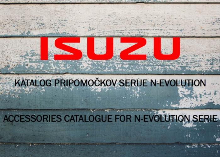 Katalog pripomočkov serije N-evolution