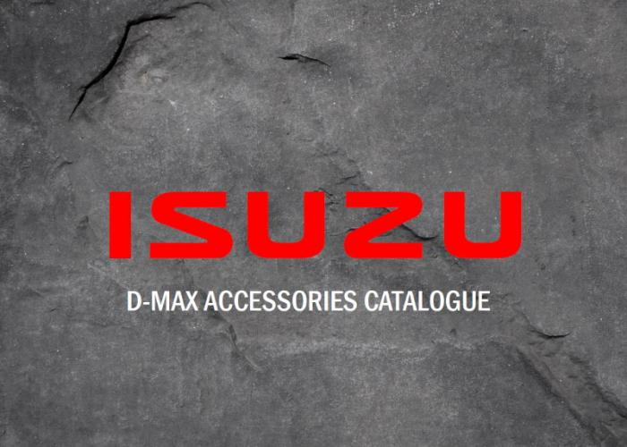 D-Max Accessories Catalogue