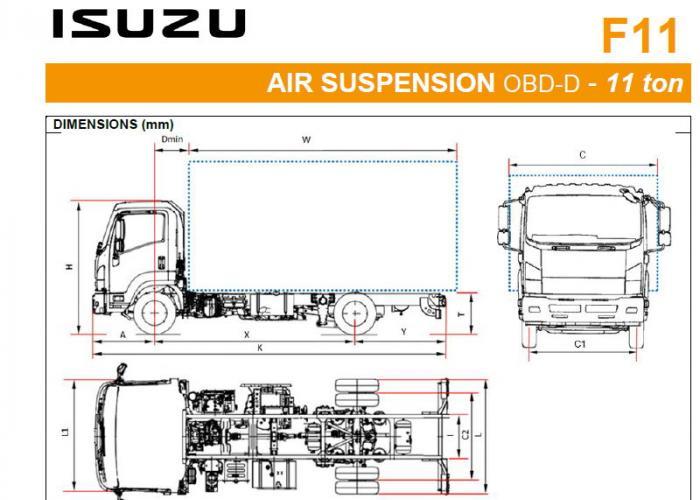 Katalog Isuzu F11 Air Susp.