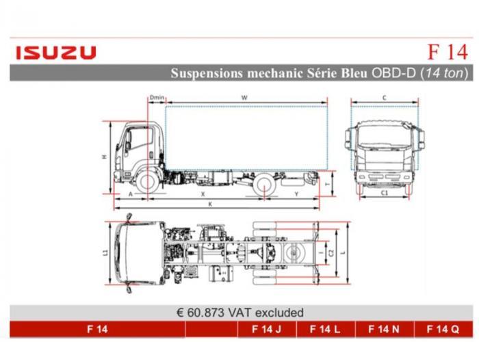 Katalog Isuzu F14 Mec. Susp.