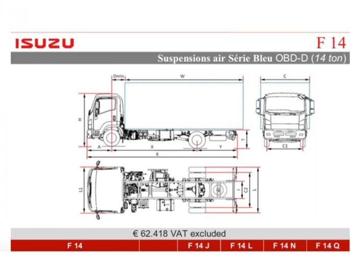 Katalog Isuzu F14 Air Susp.