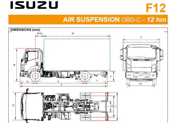 Katalog Isuzu F12 Air Susp.