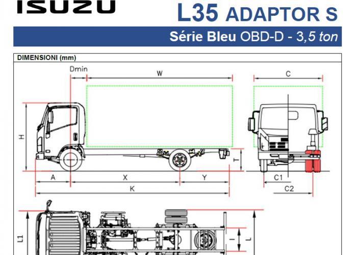 Katalog Isuzu L35 Adaptor