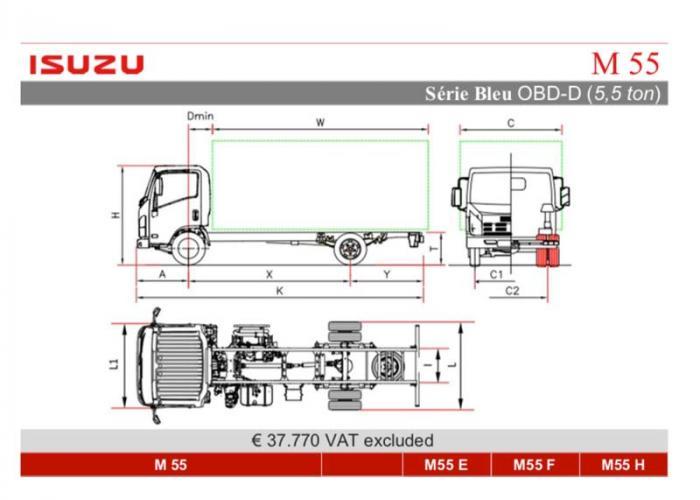 Katalog Isuzu M55