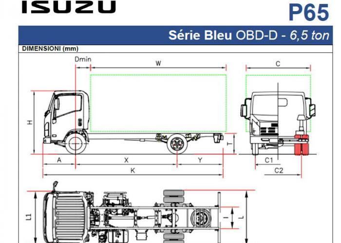 Katalog Isuzu P65
